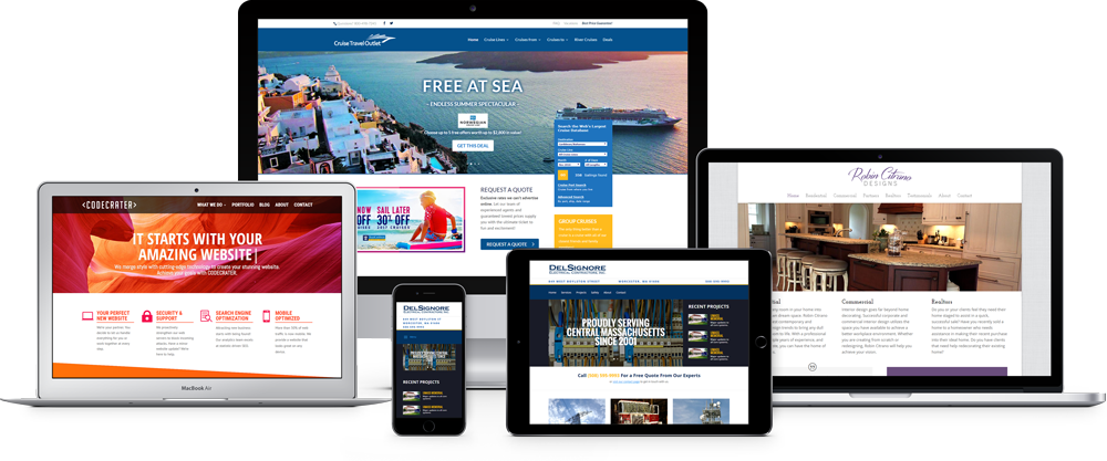 We Design Websites That Work on All Devices