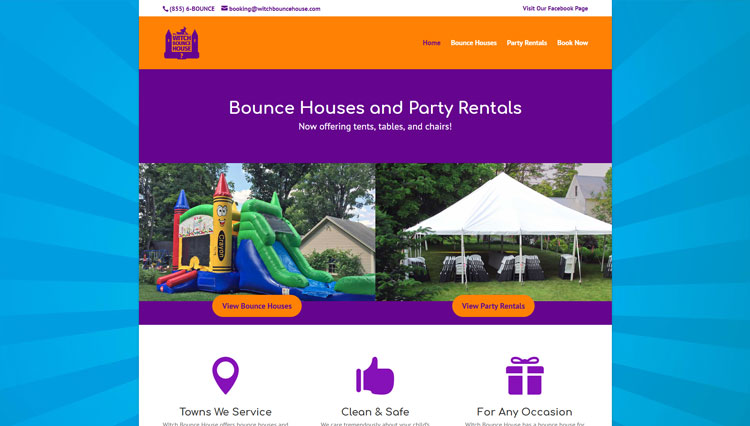 Witch Bounce House